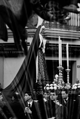 Traslado Ntra. Sra. de la Caridad, Santuario de Santa Maria de la Victoria   Malaga, Espagne   2015